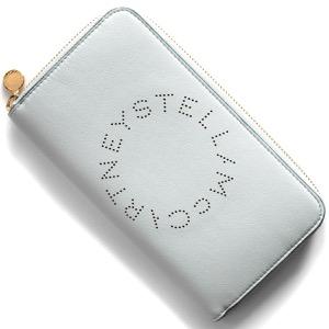 ステラマッカートニー 長財布 財布 レディース ステラ ロゴ クラウドライトグレーブルー 502893 W9923 1628 STELLA McCARTHNEY