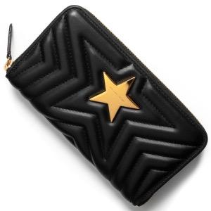 ステラマッカートニー 長財布 財布 レディース ステラスター ブラック 504536 W8214 1000 STELLA McCARTHNEY
