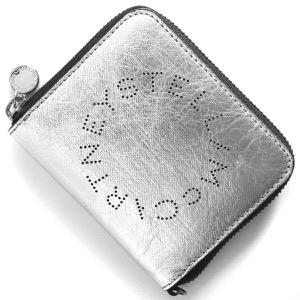 ステラマッカートニー コインケース【小銭入れ】 財布 メンズ レディース ステラ ロゴ シルバー 570271 W8490 8100 STELLA McCARTHNEY
