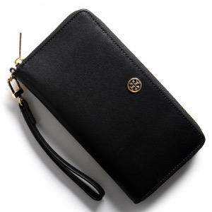 トリーバーチ 長財布 財布 レディース パーカー PARKER ブラック&キャメルベージュ 36799 001 TORY BURCH