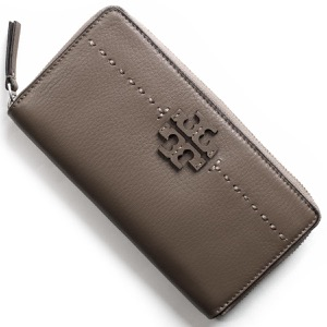 トリーバーチ 長財布 財布 レディース マクグロウ シルバーメープルグレージュ 41847 963 TORY BURCH