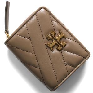 トリーバーチ 二つ折り財布 財布 レディース キラ シェブロン クラシックトープベージュ 56820 294 TORY BURCH