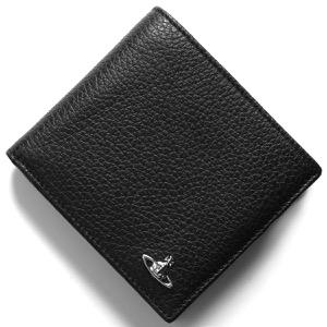 ヴィヴィアンウエストウッド 二つ折り財布 財布 メンズ ミラノ マン ブラック 51010016 40324 N401 VIVIENNE WESTWOOD