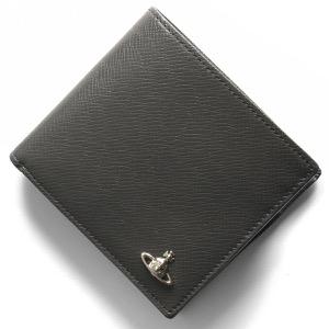 ヴィヴィアンウエストウッド 二つ折り財布 財布 メンズ ケント マン グレー 51010016 40531 P401 VIVIENNE WESTWOOD