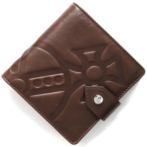 ヴィヴィアンウエストウッド 二つ折り財布 財布 メンズ チェスター ブラウン 51090001 40317 D401 VIVIENNE WESTWOOD