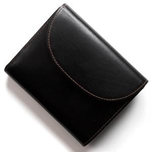 ホワイトハウスコックス 三つ折り財布 財布 メンズ ブラック&キャメルブラウン S1058 BKCA WHITEHOUSE COX