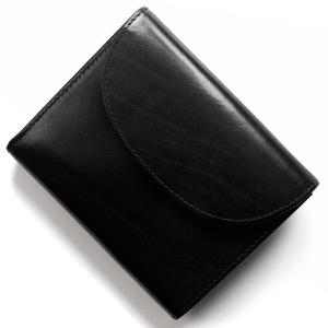 ホワイトハウスコックス 三つ折り財布 財布 メンズ ブラック S1058 BLK WHITEHOUSE COX