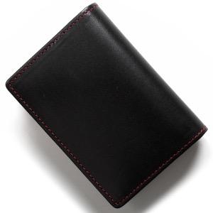 ホワイトハウスコックス カードケース メンズ ブラック&レッド S2380 BLACKRED WHITEHOUSE COX