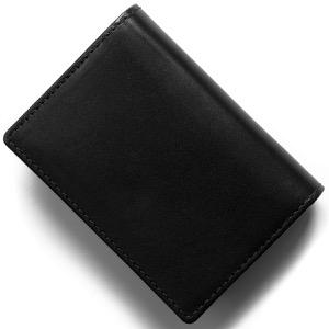 ホワイトハウスコックス カードケース/名刺入れ メンズ ブラック S2380 BLACK WHITEHOUSE COX