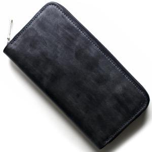 ホワイトハウスコックス 長財布 財布 メンズ エイジング ネイビー&レッド S2722 NAVYRED WHITEHOUSE COX