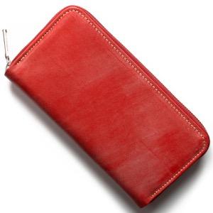 ホワイトハウスコックス 長財布 財布 メンズ エイジング レッド S2722 RED WHITEHOUSE COX