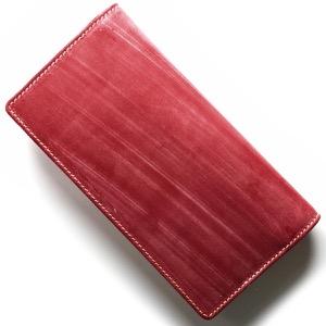 ホワイトハウスコックス 長財布 財布 メンズ エイジング レッド S8819 RED WHITEHOUSE COX