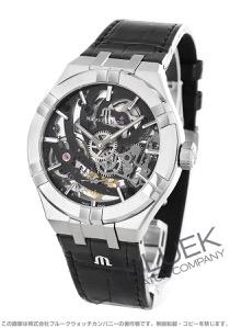 モーリス・ラクロア アイコン スケルトン アリゲーターレザー 腕時計 メンズ MAURICE LACROIX AI6028-SS001-030-1