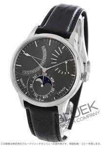 モーリス・ラクロア マスターピース カランドリエ レトログラード パワーリザーブ クロコレザー 腕時計 メンズ MAURICE LACROIX MP6528-SS001-330-1