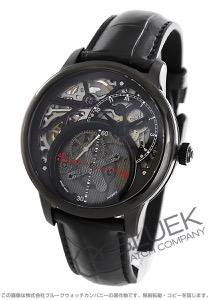 モーリス・ラクロア マスターピース ミステリアス・セコンド リベレイション クロコレザー 腕時計 メンズ MAURICE LACROIX MP6558-PVB01-092-1