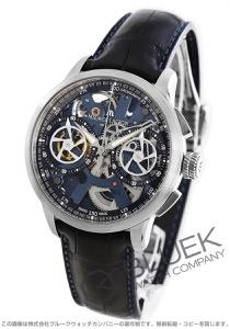 モーリス・ラクロア マスターピース スケルトン 世界限定188本 クロノグラフ クロコレザー 腕時計 メンズ MAURICE LACROIX MP7128-SS001-400