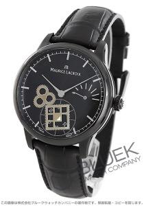 モーリス・ラクロア マスターピース スクエアホイール 日本限定40本 パワーリザーブ クロコレザー 腕時計 メンズ MAURICE LACROIX MP7158-PVB01-301-1