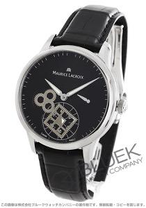 モーリス・ラクロア マスターピース ルー・カレ・セコンド パワーリザーブ クロコレザー 腕時計 メンズ MAURICE LACROIX MP7158-SS001-900