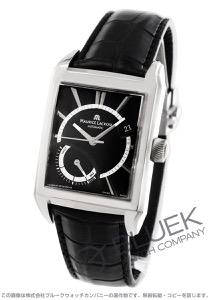 モーリス・ラクロア ポントス レクタンギュラー リザーブ・ド・マルシェ パワーリザーブ クロコレザー 腕時計 メンズ MAURICE LACROIX PT6207-SS001-330