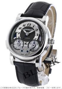 モンブラン ニコラ・リューセック クロノグラフ アリゲーターレザー 腕時計 メンズ MONTBLANC 102337