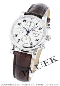 モンブラン スター クロノグラフ アリゲーターレザー 腕時計 メンズ MONTBLANC 106466