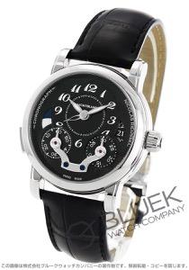 モンブラン ニコラ・リューセック クロノグラフ アリゲーターレザー 腕時計 メンズ MONTBLANC 106488