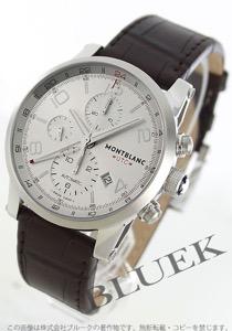 モンブラン タイムウォーカー クロノグラフ GMT アリゲーターレザー 腕時計 メンズ MONTBLANC 107065