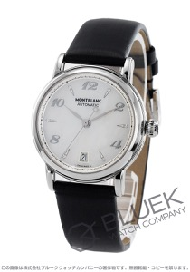 モンブラン スター ダイヤ サテンレザー 腕時計 レディース MONTBLANC 107118