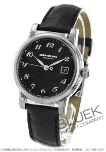モンブラン スター デイト アリゲーターレザー 腕時計 メンズ MONTBLANC 107314