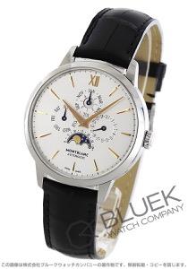 モンブラン ヘリテイジ スピリット パーペチュアルカレンダー ムーンフェイズ アリゲーターレザー 腕時計 メンズ MONTBLANC 110715