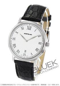 モンブラン トラディション アリゲーターレザー 腕時計 メンズ MONTBLANC 112633