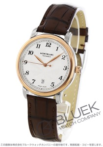 モンブラン スター レガシー デイト アリゲーターレザー 腕時計 メンズ MONTBLANC 117577