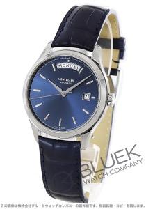 モンブラン ヘリテイジ クロノメトリー デイデイト アリゲーターレザー 腕時計 メンズ MONTBLANC 118225