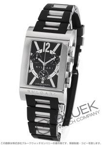 ブルガリ レッタンゴロ クロノグラフ 腕時計 メンズ BVLGARI RTC49BRSVD