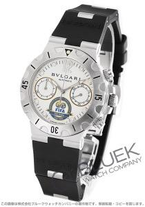 ブルガリ ディアゴノ プロフェッショナル スクーバ FIFA世界限定999本 クロノグラフ 腕時計 メンズ BVLGARI SC38WSV