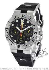 ブルガリ ディアゴノ プロフェッショナル スクーバ クロノグラフ 300m防水 腕時計 メンズ BVLGARI SC40SVD