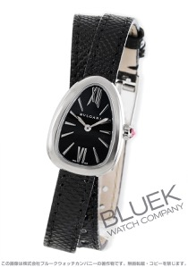 ブルガリ セルペンティ カルングレザー 腕時計 レディース BVLGARI SPS27BSL