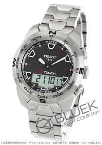 ティソ T-タッチ エキスパート チタニウム クロノグラフ 腕時計 メンズ TISSOT T013.420.44.201.00