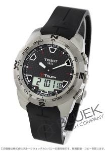 ティソ T-タッチ エキスパート チタニウム クロノグラフ 腕時計 メンズ TISSOT T013.420.47.201.00