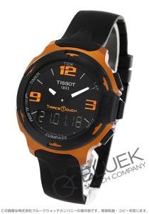 ティソ T-スポーツ T-レース タッチ アルミニウム クロノグラフ 腕時計 メンズ TISSOT T081.420.97.057.03