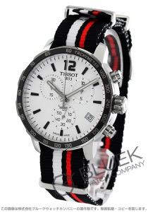 ティソ T-スポーツ クイックスター 替えベルト付き クロノグラフ 腕時計 メンズ TISSOT T095.417.17.037.01