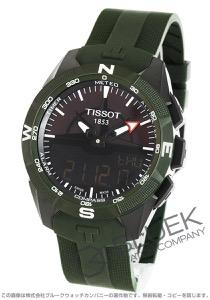 ティソ T-タッチ エキスパート ソーラーII クロノグラフ パワーリザーブ 腕時計 メンズ TISSOT T110.420.47.051.00