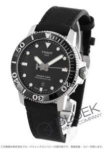 ティソ T-スポーツ シースター1000 パワーマティック80 300m防水 キャンパスレザー 腕時計 メンズ TISSOT T120.407.17.051.00