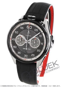 タグホイヤー カレラ クロノグラフ パワーリザーブ アリゲーターレザー 腕時計 メンズ TAG Heuer CAR2C12.FC6327