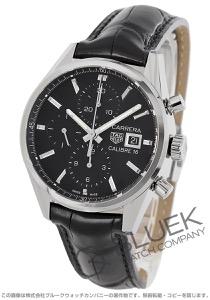 タグホイヤー カレラ クロノグラフ アリゲーターレザー 腕時計 メンズ TAG Heuer CBK2110.FC6266