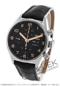 タグホイヤー カレラ クロノグラフ アリゲーターレザー 腕時計 メンズ TAG Heuer CV2A1AB.FC6379