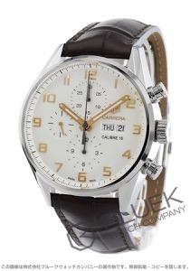 タグホイヤー カレラ クロノグラフ アリゲーターレザー 腕時計 メンズ TAG Heuer CV2A1AC.FC6380