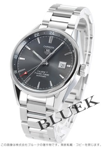 タグホイヤー カレラ ツインタイム GMT 腕時計 メンズ TAG Heuer WAR2012.BA0723