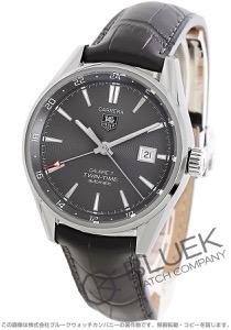 タグホイヤー カレラ ツインタイム GMT アリゲーターレザー 腕時計 メンズ TAG Heuer WAR2012.FC6326