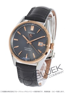 タグホイヤー カレラ アリゲーターレザー 腕時計 メンズ TAG Heuer WAR215E.FC6336